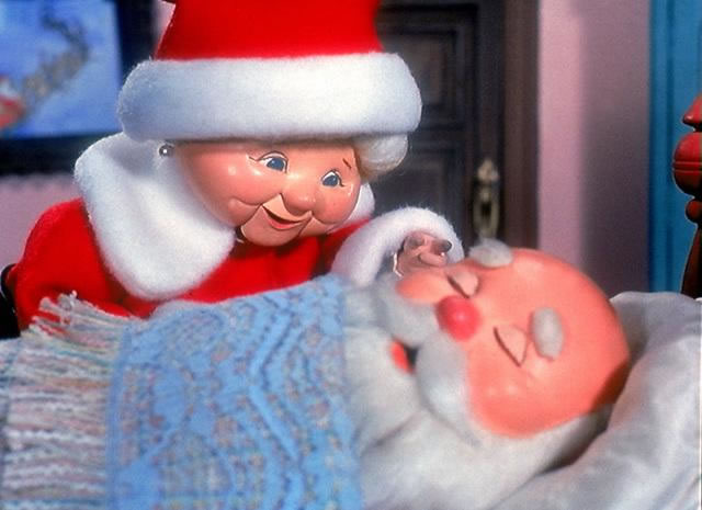 Santa is Getting Up From Nap