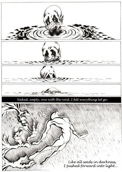 Henshin page 3 © Steve Colloff